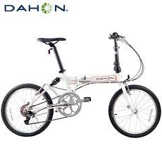 Dahon JETSTREAM D7(FAA072) 20吋7速鋁合金後避震折疊單車-白色橘標
