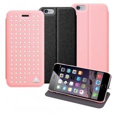 LUCCIDA Apple iphone 6 4.7吋超薄 磁吸可站立保護皮套