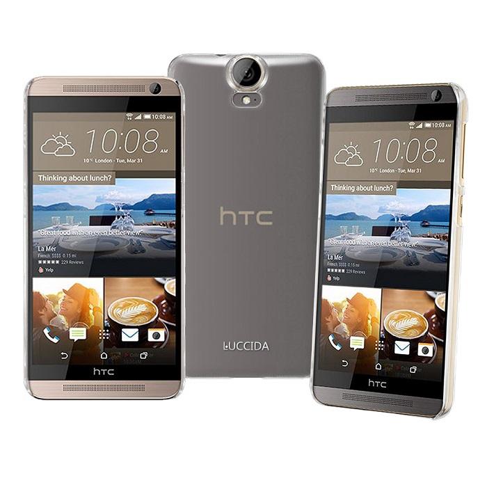 LUCCIDA HTC One E9+ / HTC One E9 全透明加強抗刮保護殼