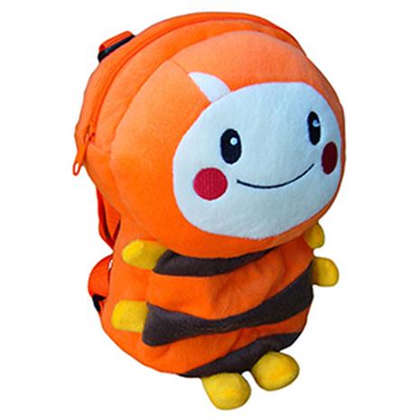【MOMO】9吋小蜜絨毛立體背包