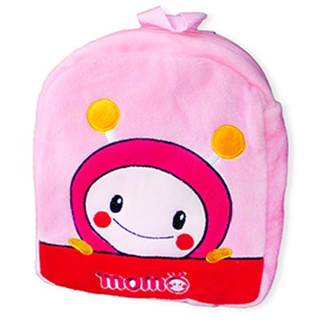 【MOMO】8吋momo絨毛俏皮背包