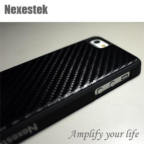 Nexestek iPhone 5/5s 頂級Carbon紋(質感黑色)超豪華手機保護殼