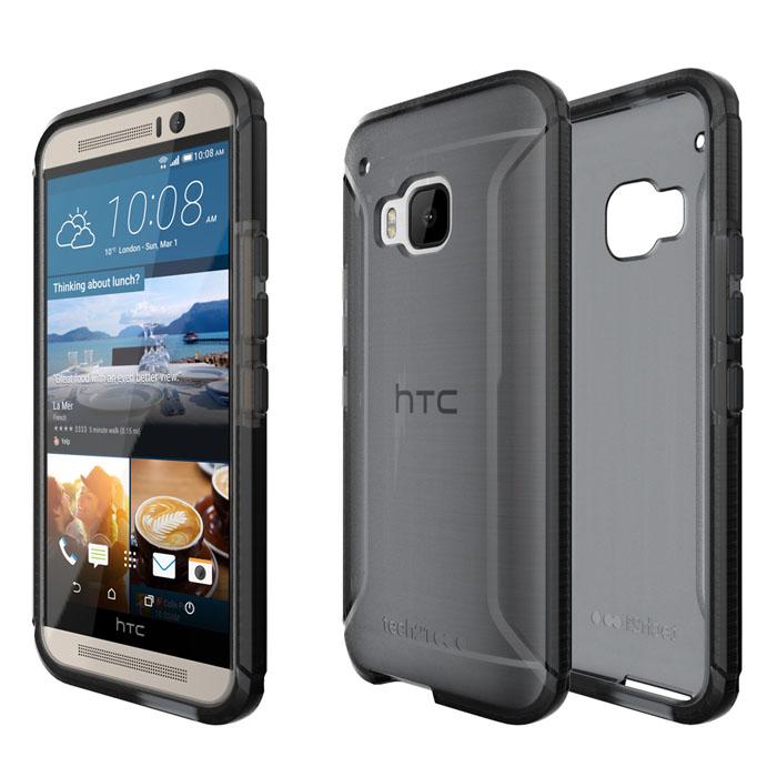 Tech21 英國超衝擊 Evo Tactical HTC One M9 防撞軟質保護殼 - 透黑