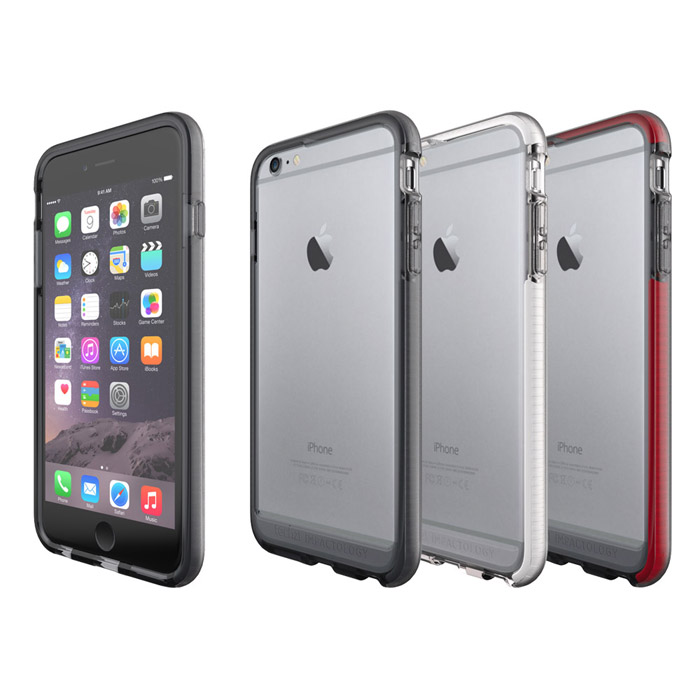 Tech21 英國超衝擊 Evo Band iPhone 6/6S Plus (5.5) 防撞軟質保護邊框