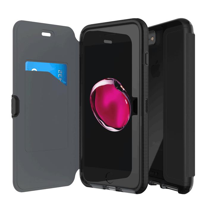 Tech21 英國超衝擊 Evo Wallet iPhone 7 Plus 防撞軟質保護皮套
