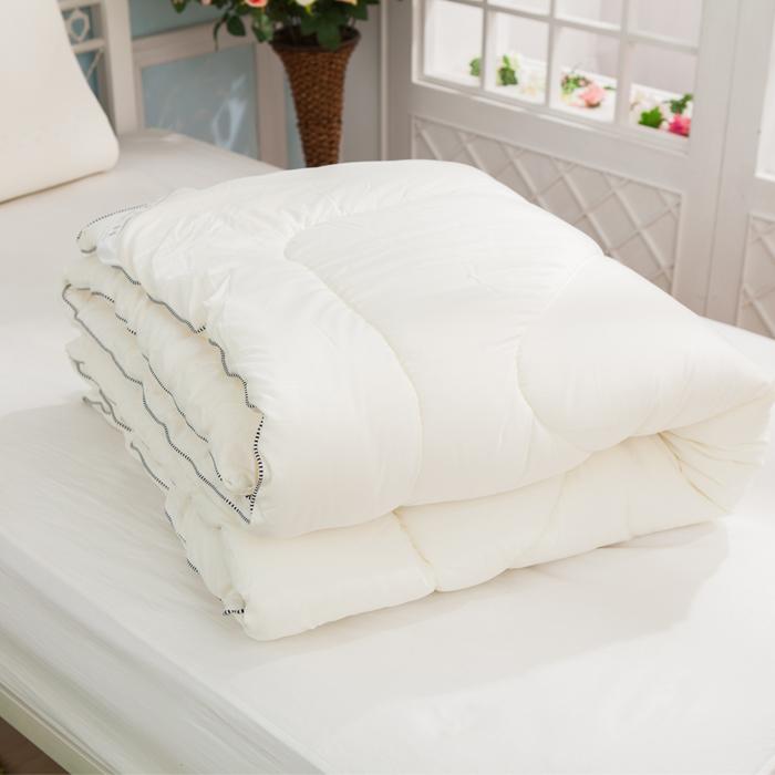 好眠元素 - 台灣生產製造舒柔暖呼呼羊毛被 (單人)