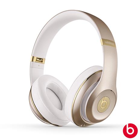 【Beats】Studio Wireless耳罩式藍牙耳機(限量香檳金)
