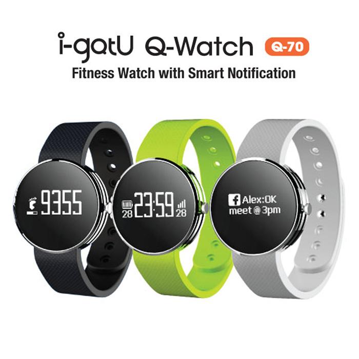 【i-gotU】Q-Watch X 藍牙智慧健身手錶Q70