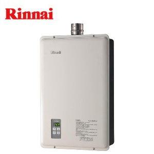 林內RUA-A1621WF-DX屋內型強制排氣數位恆溫熱水器16L(桶裝瓦斯)