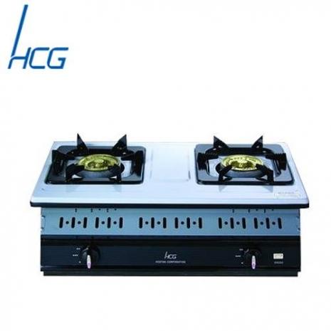 和成GS252Q嵌入式雙環瓦斯爐(不鏽鋼)(天然瓦斯)