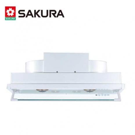 【櫻花】DR-3590XL 渦輪變頻全隱藏式除油煙機(90cm)