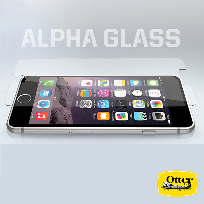 【OtterBox】Alpha Glass 玻璃保護貼 for iPhone 6/ 6s Plus