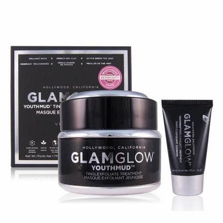 GlamGlow 非常性感礦泥面膜(黑) 50g x 1 +非常性感礦泥面膜(黑) 15g
