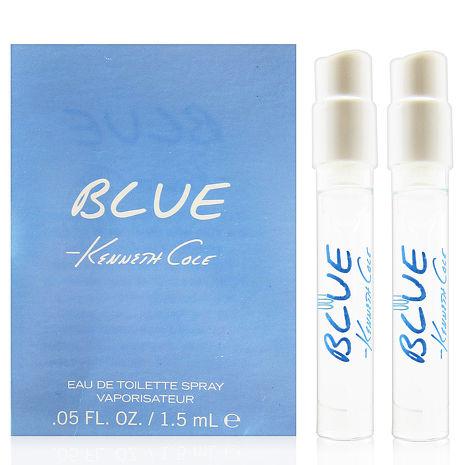 Kenneth Cole BLUE 淡香水 針管 1.5ml x2入