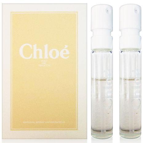 Chloe 白玫瑰 女性淡香水 針管 1.2ml x2入