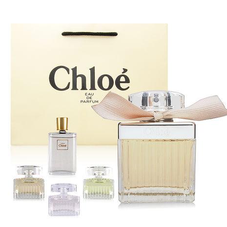 Chloe 同名女性淡香精 75ml 贈原廠紙袋+Chloe小香水2份(隨機出貨保證不同款)