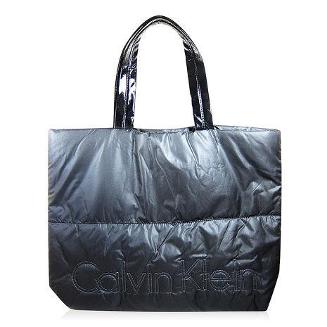 Calvin Klein CK 黑色空氣肩背包