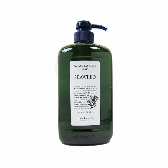 Lebel 海藻洗髮精 1000ml
