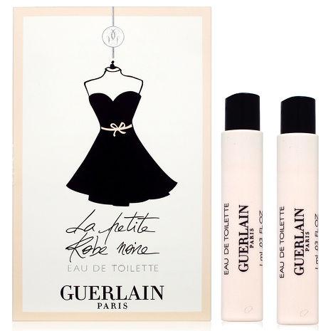GUERLAIN 嬌蘭 小黑裙淡香水 針管 1ml x2入組