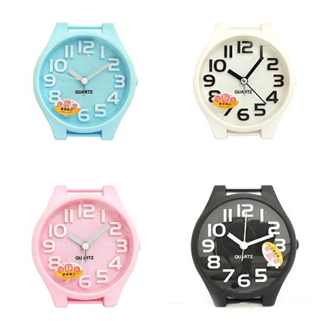 無敵王 糖果色手錶造型立體數字鬧鐘SV-1314