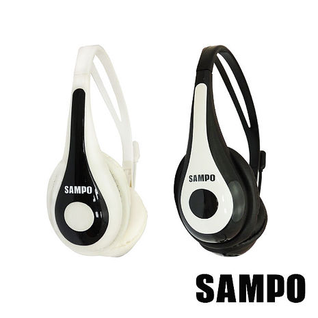 SAMPO聲寶 頭戴式電腦耳機麥克風EK-YF52CH