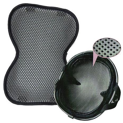 捷豹 竹炭安全帽內襯-半罩YW-R01
