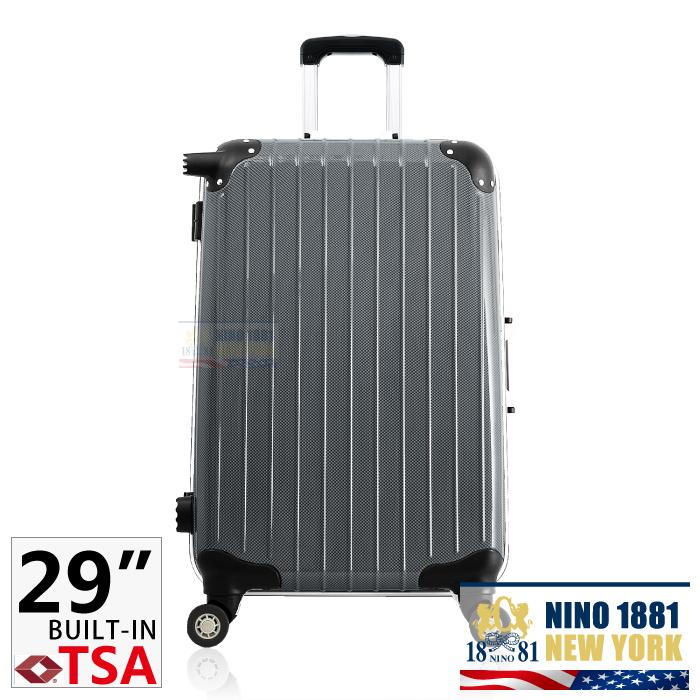 NINO-1881 29吋PC拉桿行李/旅行箱_黑色