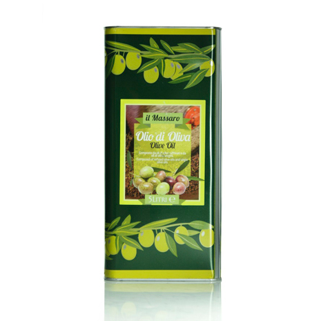 【Galantino】頂級橄欖油 - 5公升家庭號 Olive Oli 5L