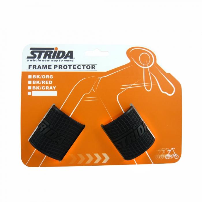 STRIDA車架護桿套2入+彩色吊卡(黑)