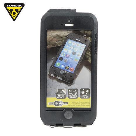 TOPEAK Weatherproof RideCase iPhone 5/5S用 三防抗水手機保護殼-黑灰  (自行車用)