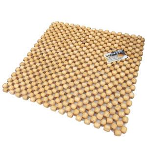楓木四方木珠坐墊(車用 座墊 踏墊 腰靠 腰枕 頸枕)-促銷中