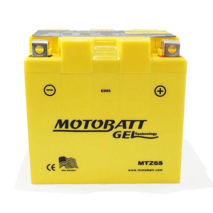 【美國MOTOBATT】MTZ6S GEL膠體長效機車電池/電瓶