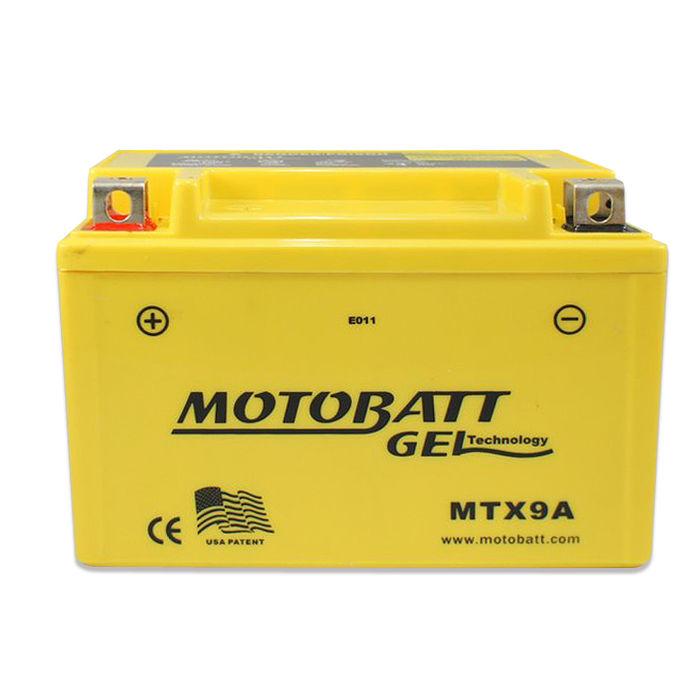 【美國MOTOBATT】MTX9A GEL膠體長效機車電池