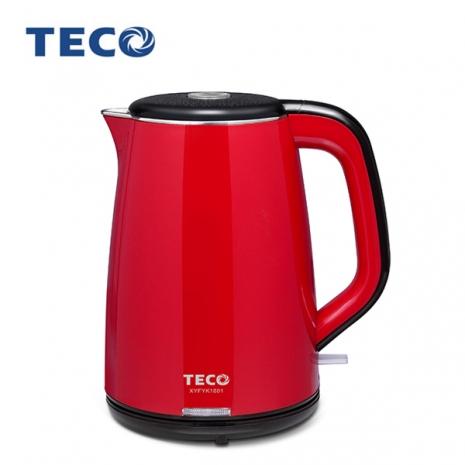 【TECO 東元】1.8L雙層不鏽鋼快煮壺 (XYFYK1801)