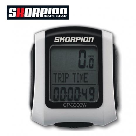 【德國 SKORPION】 CP3000W 無線速度錶