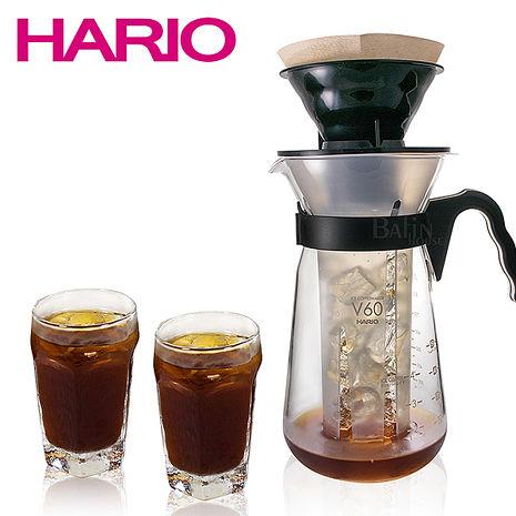 【日本 HARIO】冰咖啡 手沖咖啡壺700ml / 附濾紙10入(VIC-02B)
