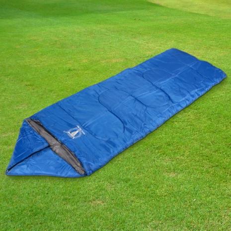 【APC】三季三合一全開式睡袋(藍色)