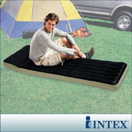 【INTEX】單人野營充氣床墊(露營睡墊)-寬72cm