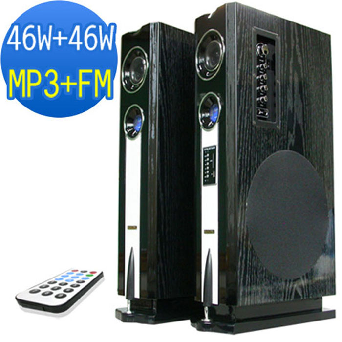MUSONIC MU-5100內置擴大機多媒體卡拉OK專用喇叭