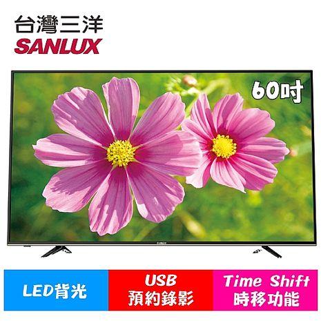 台灣三洋SANLUX 60型LED背光液晶顯示器 SMT-60E3