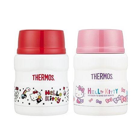 【THERMOS 膳魔師】Hello Kitty 不鏽鋼真空保溫食物罐0.47L(SK3000KT)