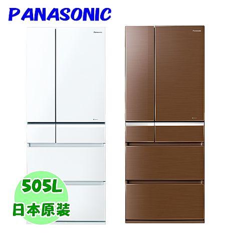 ★加碼贈好禮★【Panasonic國際牌】日本進口505L玻璃無邊框六門冰箱 NR-F511VG