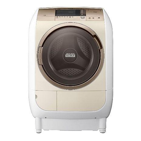 ★加碼贈好禮★日立 HITACHI 12公斤 風熨斗.滾筒式洗脫烘洗衣機 SFBD2900W (左開)
