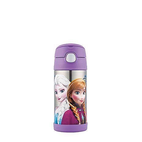 膳魔師 370ml Frozen 冰雪奇緣 不銹鋼真空保冷瓶 F4015FZ6