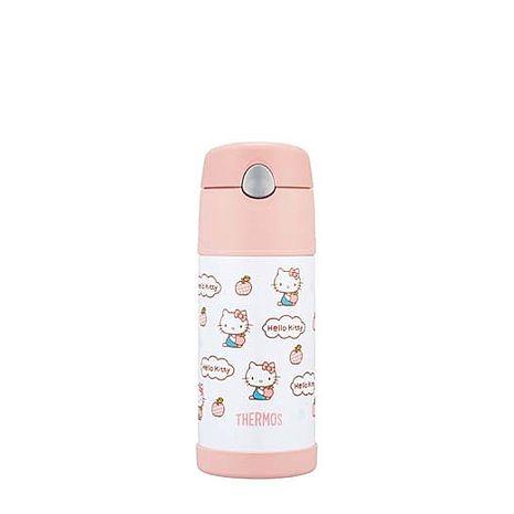膳魔師 370ml Hello Kitty(蘋果篇) 不銹鋼真空保冷瓶 F4004KT6