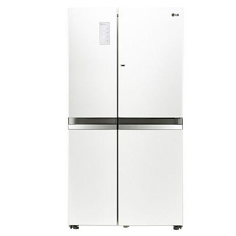 ★加碼贈好禮★LG 樂金825L 門中門魔術空間對開冰箱 GR-DB78W