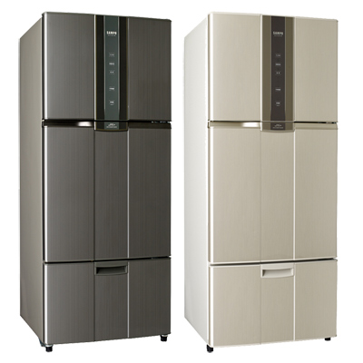 【SAMPO聲寶】580L智慧節能變頻一級三門冰箱 SR-N58DV (金Y2)(石墨銀K2)