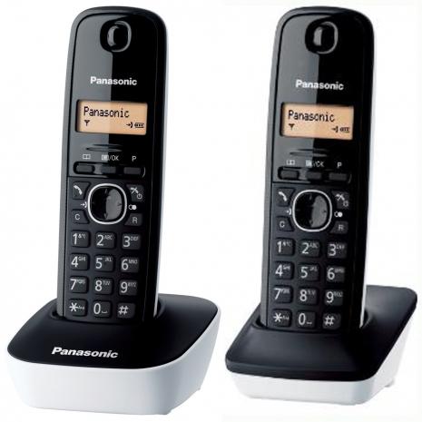 國際牌DECT數位無線電話KX-TG1612(白)