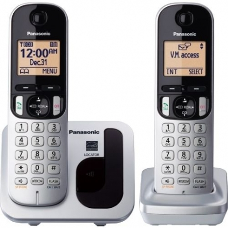 【TGC212TW】 Panasonic 國際牌數位DECT 無線電話 KX-TGC212TW (松下公司貨)