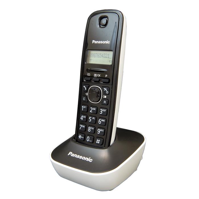 國際牌DECT數位電話KX-TG1611TW/TG1611-公司貨(白)